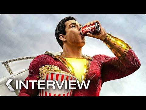 SHAZAM! Interview & Trailer (2019)