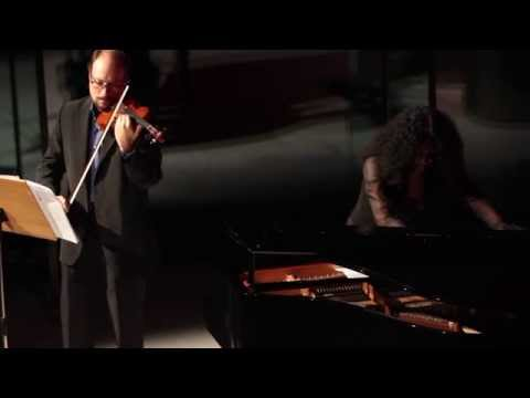 FLIGHT ELEGY for violin and piano (by Jonathan Harvey)