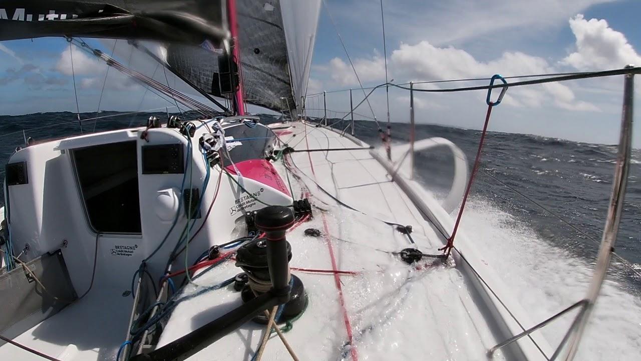 Tom LAPERCHE en solo à bord d'Espoir