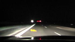 BMW 760LI 0-254 KM/H (F01, 544 PS, TOP SPEED ON GERMAN AUTOBAHN)