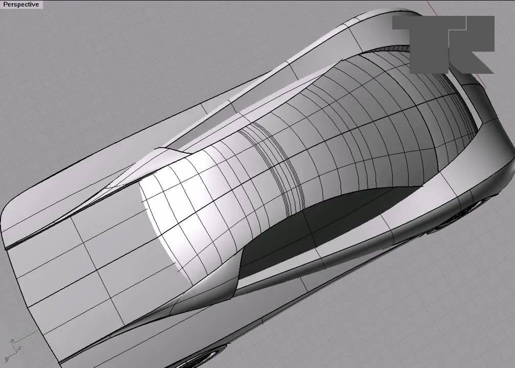 nurbs model of car youtube. Black Bedroom Furniture Sets. Home Design Ideas