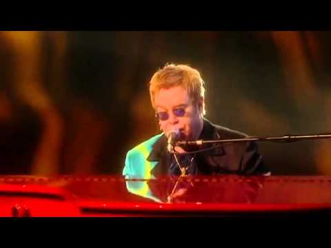 Elton John   Candle in the wind, The Red Piano  Live from Las Vegas