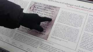 a modern Icelander can read an ancient Icelandic document at Thingvellir