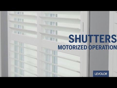 LEVOLOR Custom Motorized Shutters