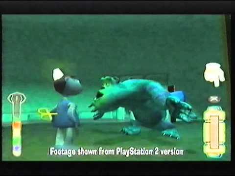 Disney and Pixar Monsters, Inc. Video Game 2002 VHS UK Advert