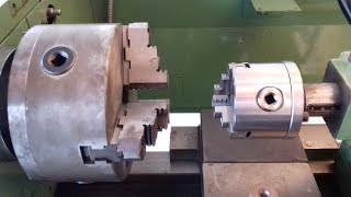 Costruzione Portamandrino Per Controtesta [ Spindle Holder Construction For Lathe ]