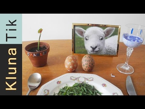 special-easter-eggs-for-lunch!-kluna-tik-dinner-#60-|-asmr-eating-sounds-no-talk
