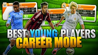 FIFA 16 - BEST YOUNG PLAYERS(BEST YOUNG PLAYERS ON CAREER MODE! PLAYERS WITH HIGHEST POTENTIAL!! DEPAY, STERLING, ODEGAARD AND MORE! LIKE FOR MORE!, 2015-09-17T14:00:01.000Z)