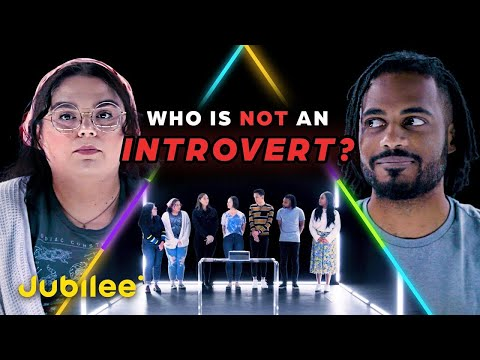 6 Introverts Vs 1 Secret Extrovert