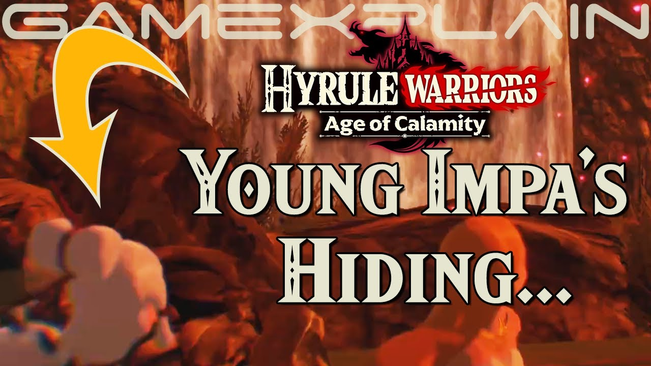 Is Young Impa Hiding In Hyrule Warriors Age Of Calamity What Does It Mean Youtube