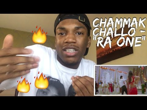 Ra One - Chammak Challo (Full Song) ft. ShahRukh, Kareena Kapoor BRITISH REACTION!!!
