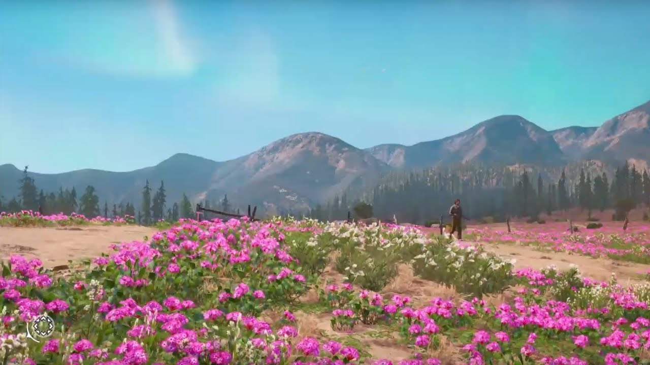 How Big Is The Map In Far Cry New Dawn Crouch Across The Map