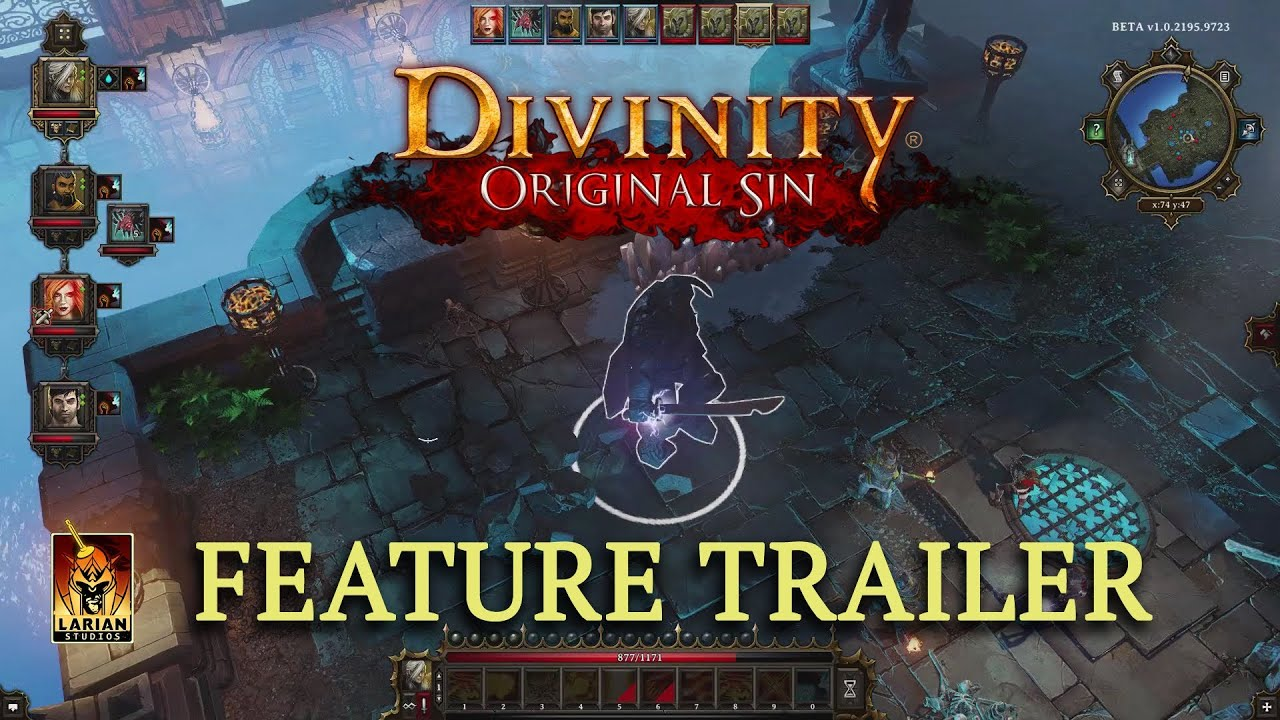 Divinity: Original Sin - Gameplay Trailer - Features