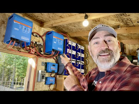 DIY Off Grid Solar Power System for Home - AMAZING POWER!