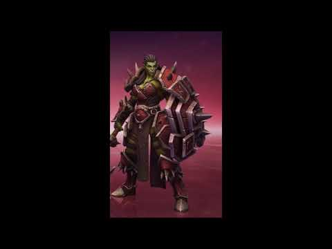 Warsong Johanna Skin FULL Quotes - Heroes Of The Storm