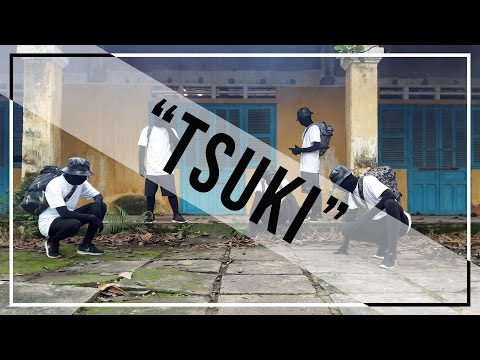 HFO Dance Crew x NONE Project ft Ninshino | Eruku & Moonbeat - Tsuki