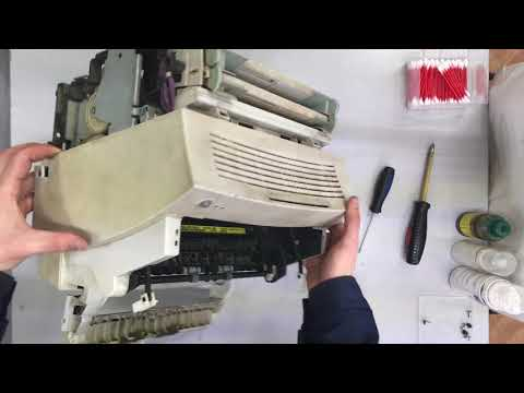 Ремонт принтера hp laserjet 1100 своими руками