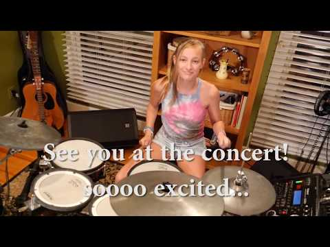 The Ataris - So Long, Astoria (drum cover) / Mia / 12-year old girl drummer