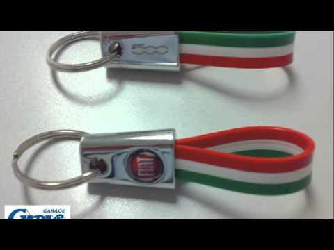 Fiat 500 Keyring