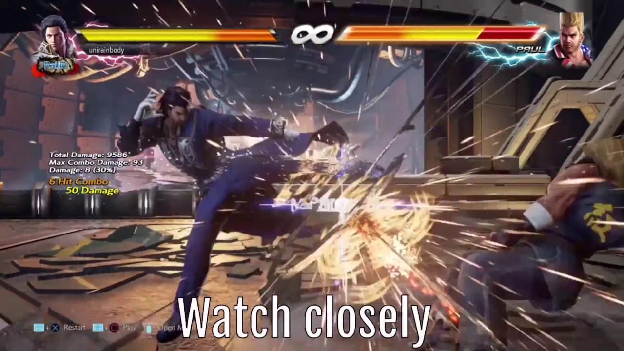 Claudio Has A Hidden Move In Tekken 7 That S Not In His Command List Tekkengamer
