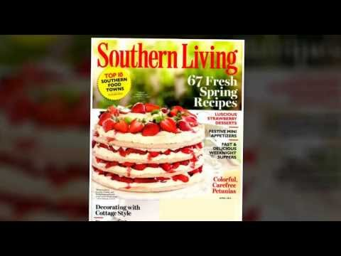 Southern Living Magazine Subscription, Renewal [Save Up To 73%]
