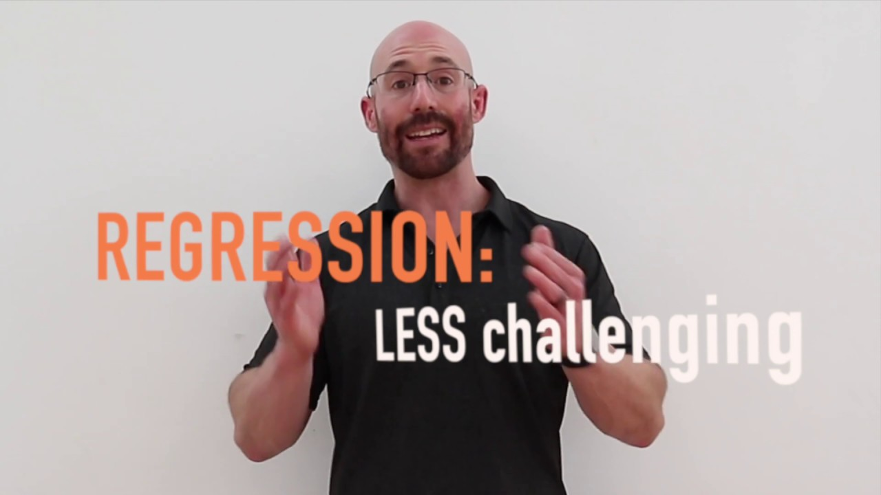 Autism Fitness Seminar With Eric >> Exercise Progressions And Regressions Autism Fitness