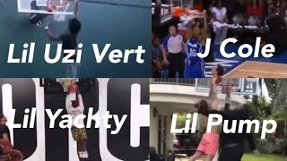 When rappers try to dunk ft J Cole, Lil Uzi Vert, Lil pump and more