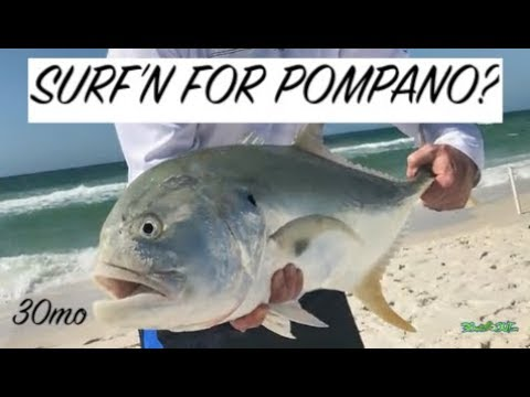 HIS BIGGEST SALTWATER FISH EVER surf fishing Pensacola Beach Florida