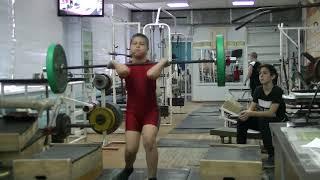 Кожевин Никита, 10 лет, вк 46 На грудь в сед с плинтов 32 кг Есть личный РЕКОРД! кг  Новичок