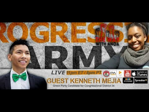 Kenneth Mejia 34th Congressional District California!
