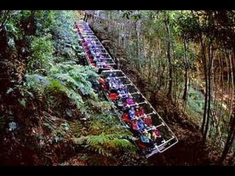 World S Steepest Railway Scenic World Katoomba Youtube