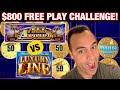 🚂 $800 Free Play TRAIN Challenge at Cosmo Las Vegas - All Aboard vs Cash Express Luxury Line! 🏆💰