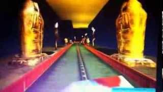 Roller coaster tycoon 3 רכבת שדים - Ghost train