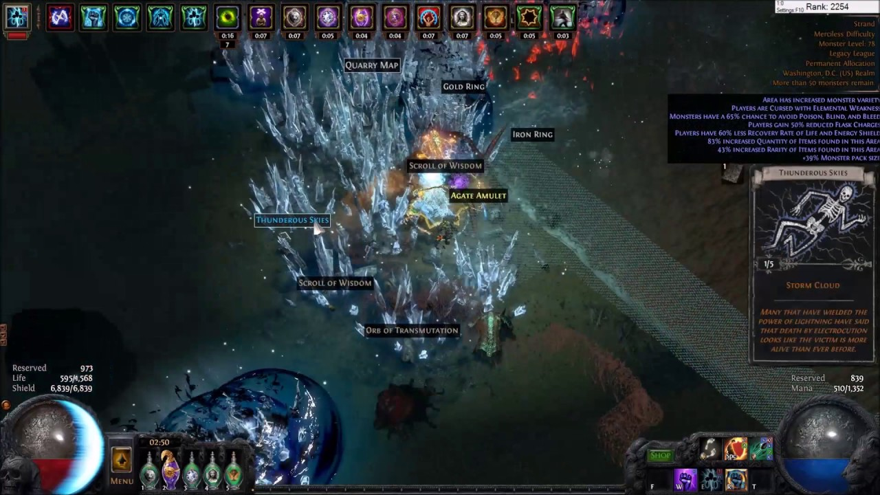 Path Of Exile  Budget Ek Raider On 5link