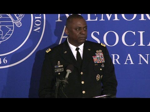 General Lloyd J. Austin: Is Our Battlefield Changing?