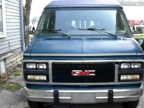 93 gmc vandura 2500 youtube. Black Bedroom Furniture Sets. Home Design Ideas