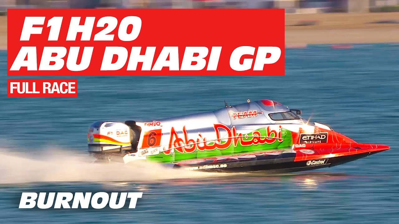 F1H20 Grand Prix of Abu Dhabi 2018 | Full Race | BURNOUT