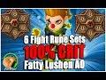 SUMMONERS WAR: Fatty Lushen Arena Offense (12x Fight Runes, 100% Crit)