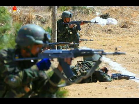 DPRK Special Operation Forces - Tactical Exercises 2017