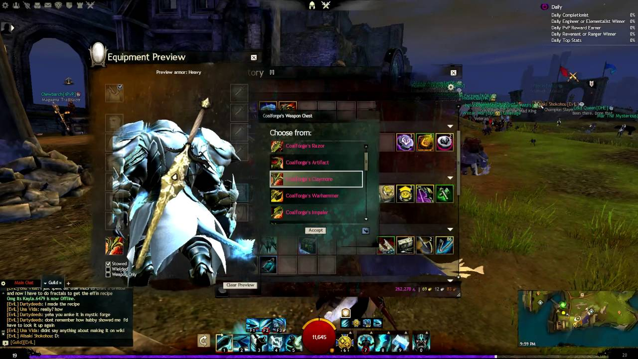 Guild Wars 2 Choosing An Ascended Weapon Youtube