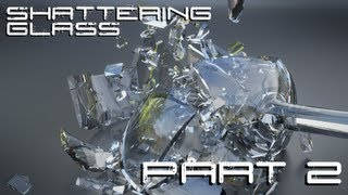 How To Shatter Glass in Blender (Part 2)