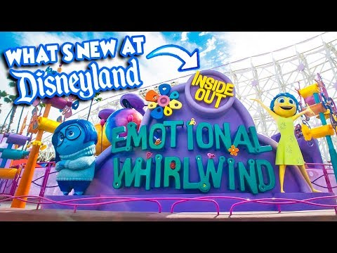 What's NEW At The Disneyland Resort?! | Inside Out, Haunted Mansion 50th, & More!