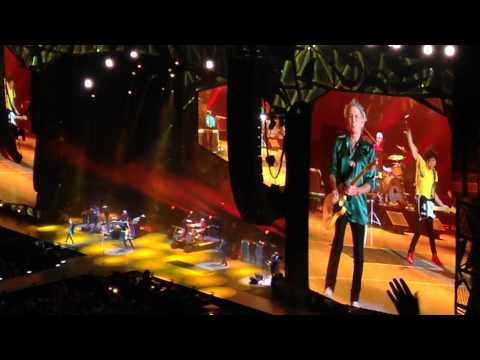 Honky Tonk Woman -Rolling Stones live in Raleigh NC Zip Code Tour 2015