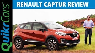 Renault Captur Review in Detail | Pros and Cons | QuikrCars