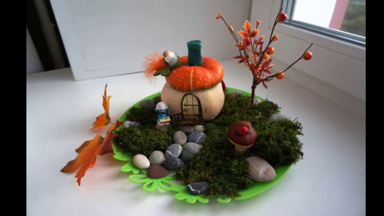 Осенние поделки на выставку для детей в детский садик, доу ...
