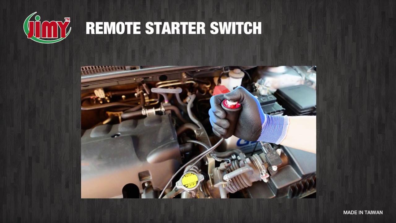 actron remote starter hook up