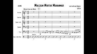 "Jazz Brass Band Music - Jazz March - ""Malcolm Martin Muhammad"""