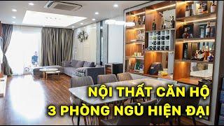 Nội Thất Chung Cư A10 Nam Trung Yên 97m2- Căn số 02