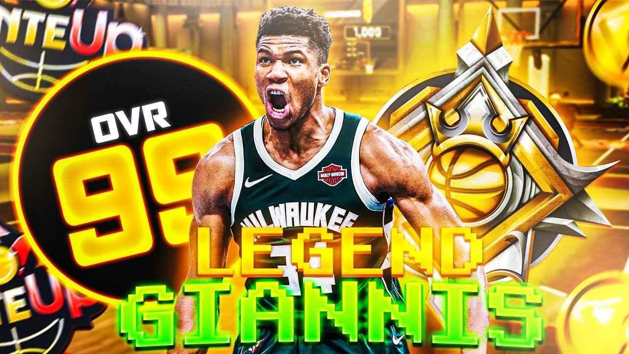 LEGEND GIANNIS ANTETOKOUNMPO is the MOST UNSTOPPABLE BUILD IN NBA 2K20