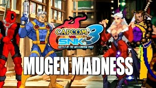 MUGEN MADNESS: Marvel & Capcom Masters Edition (Capcom Vs. SNK Ultimate Build)